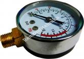 Manomeeter kompressorile 12bar RE0349